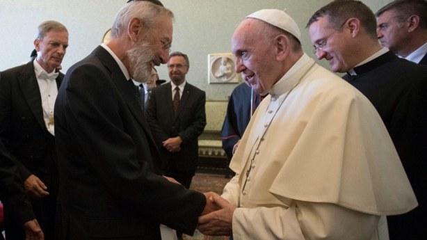 Đức Giáo hoàng chúc mừng Lễ Vượt Qua của Cộng đồng Do Thái giáo