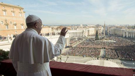 Đức Giáo hoàng Phanxicô tiếp tục kêu gọi hòa bình tại Syria