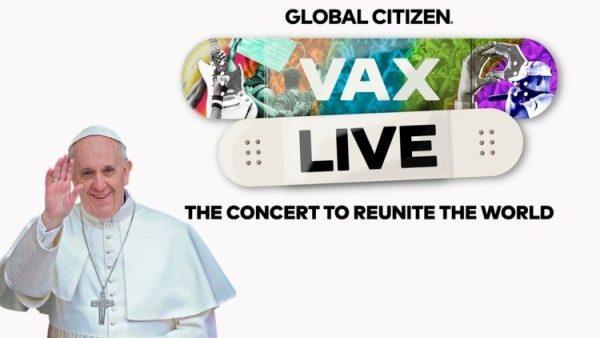 ĐGH gửi sứ điệp video tới Buổi hòa nhạc Hiệp nhất Thế giới