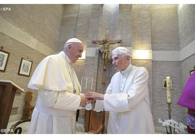 Đức nguyên Giáo hoàng Biển Đức XVI: Trong nội tâm tôi đang hành hương về Nhà