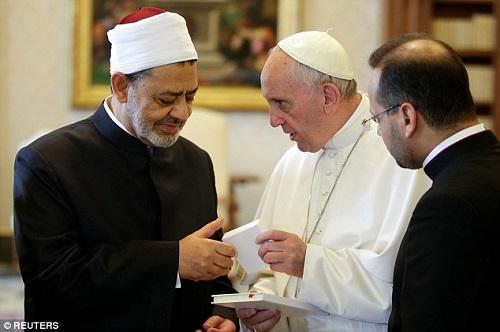 Đức Giáo hoàng Phanxicô sẽ viếng thăm Ai Cập vào cuối tháng 4/2017