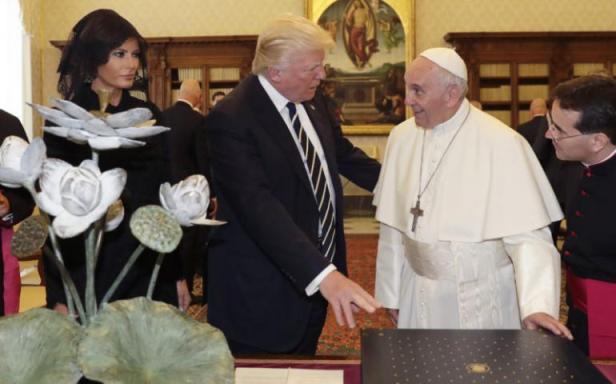 ĐGH Phanxicô tiếp kiến Tổng thống Hoa Kỳ Donald Trump
