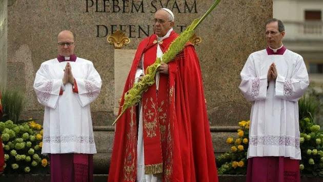 Bài giảng của ĐGH Phanxicô - Chúa nhật Lễ Lá 2017