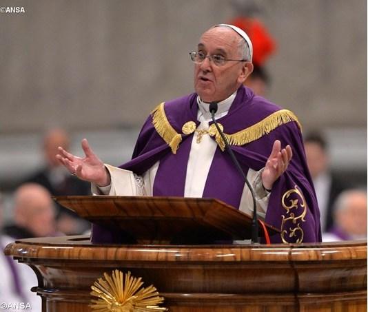 Đức Giáo hoàng  Phanxicô khai mạc Mùa Chay 2017