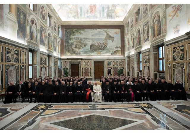 Đức Giáo hoàng tiếp kiến Giáo Hoàng Học Viện Ucraina