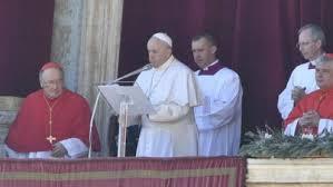 Đức Giáo hoàng Phanxicô ban phép lành toàn xá Urbi et Orbi - Lễ Giáng Sinh