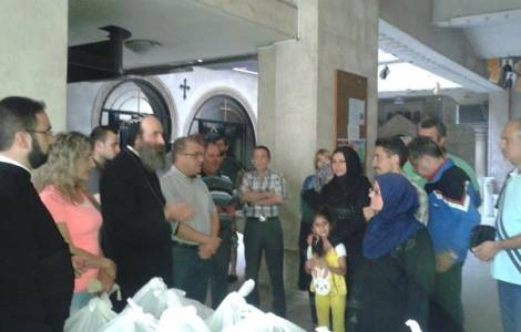 Tổng giáo phận Aleppo cung cấp bữa ăn cho người nghèo Hồi giáo trong tháng Ramadan