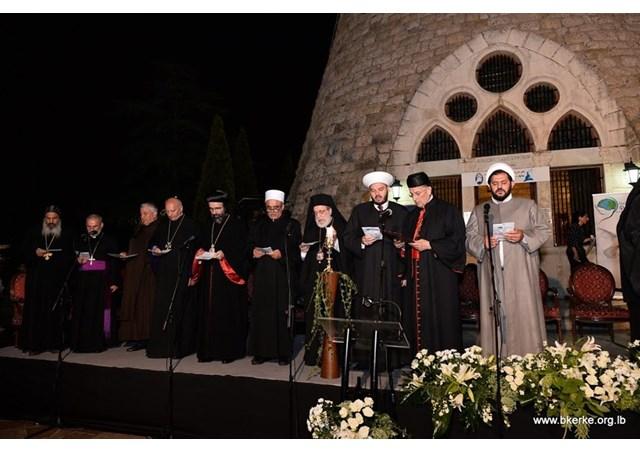 Các lãnh đạo Kitô giáo và Hồi giáo Liban cầu nguyện chung cho hòa bình
