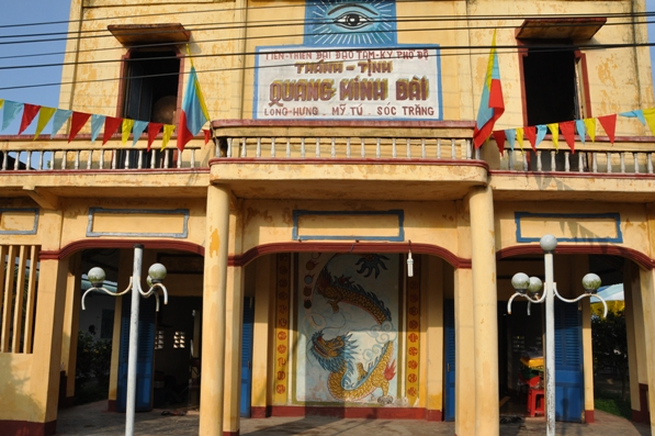 Ban MVĐTLT dự lễ kỷ niệm 85 năm thành lập TT Quang Minh Đài (01.05.2018)