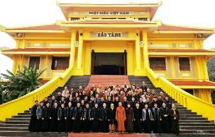 Chủng sinh ĐCV Hà Nội thăm Học viện Phật giáo VN (26.11.2017)