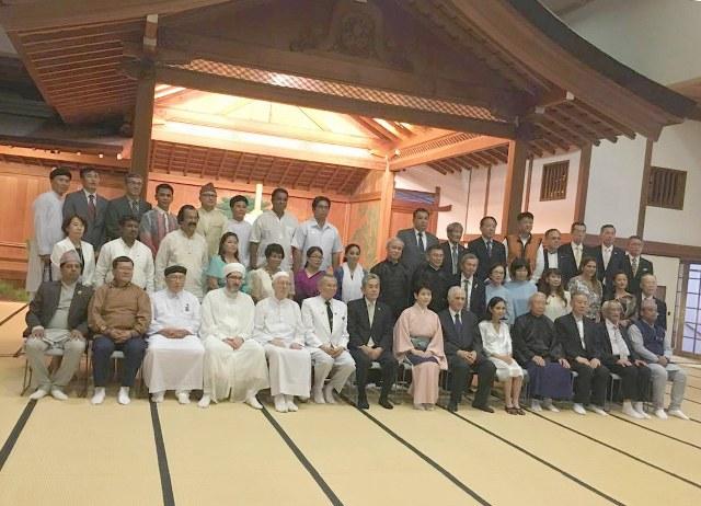 Hội nghị quốc tế giữa Đại diện các Tôn giáo Thế giới và Đại lễ mùa hè Miroku của Oomoto giáo ở Kyoto, Nhật Bản