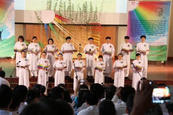 Trao nhau niềm vui - Hợp ca Cao Đài
