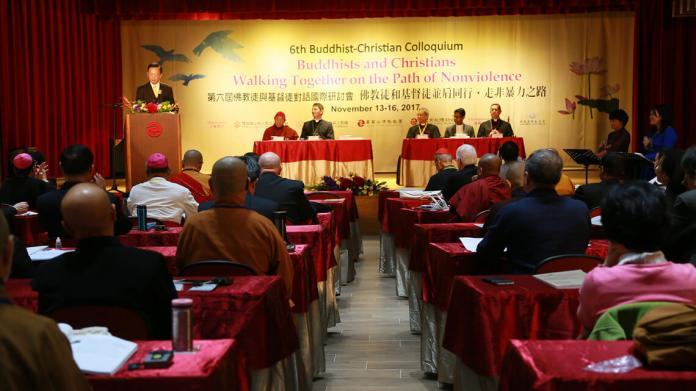 Hội thảo Phật giáo-Kitô giáo lần thứ 6 tại Thành phố Tân Bắc, Đài Loan