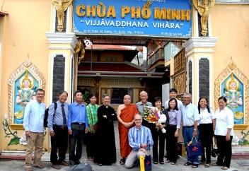 Buổi tìm hiểu Phật giáo Theravada tại chùa Phổ Minh