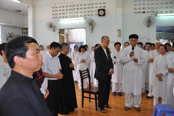 Ban Mục vụ Đối thoại Liên tôn viếng tang Giáo sỹ Huệ Ý (25.4.2018)