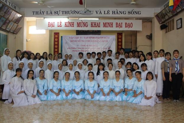 Gặp gỡ tu sĩ Dòng Thánh Phaolô và Thánh thất Trung Minh (16.12.2018)