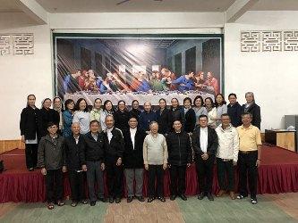Giao lưu Ban Đối Thoại Liên Tôn của TGP Huế và TGP Sài Gòn