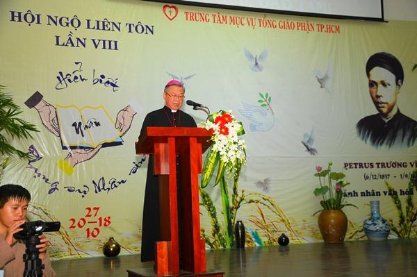 HNLT 2018: Lời khai mạc của Đức Giám mục phụ trách Đối thoại Liên tôn
