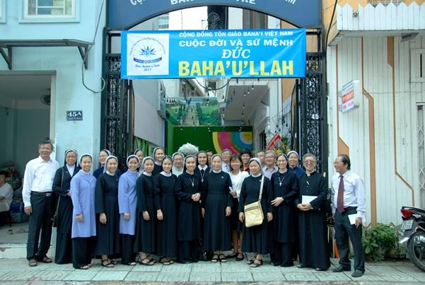 Chuyến thăm viếng Cộng đồng Tôn Giáo Baha'i VN (21.10.2017)