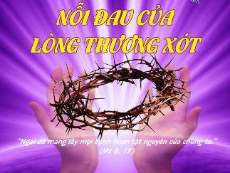 Nỗi đau của Lòng Thương Xót