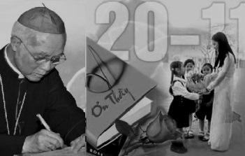 Thư gửi anh chị em giáo chức Công giáo nhân Ngày Nhà giáo Việt Nam 2016