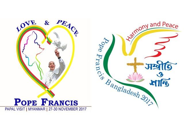 Toà thánh công bố logo chính thức chuyến tông du của ĐGH Phanxicô đến Myanmar và Bangladesh