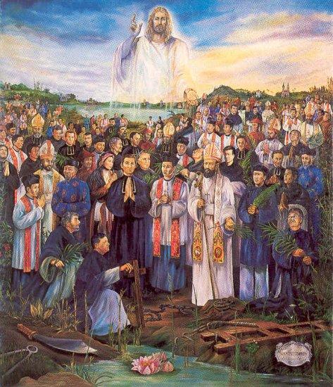 Bài giảng CN Kính Các Thánh Tử Đạo VN - Gm. Nguyễn Văn Khảm