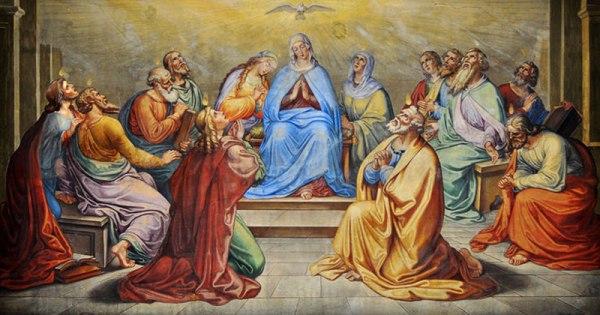 Mẹ Maria: Cầu nguyện với và trong Giáo hội