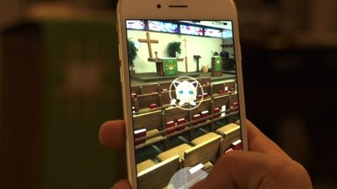 Nhà thờ và Pokémon Go