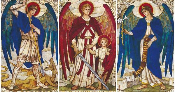 Các thiên thần của Thiên Chúa: SN Tin Mừng thứ Sáu, Các Tổng lãnh thiên thần Micae, Gabrien, Raphaen (29.9.2017)
