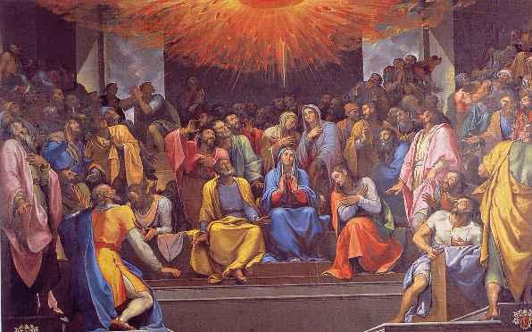 Hãy nhận lấy Thánh Thần: SN TM CN Chúa Thánh Thần Hiện xuống (09.06.2019)