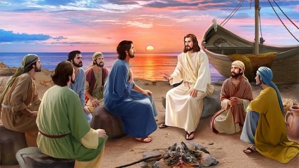 Đức Giêsu đến, cầm lấy bánh trao cho môn đệ: SN TM CN III PS C (05.05.2019)
