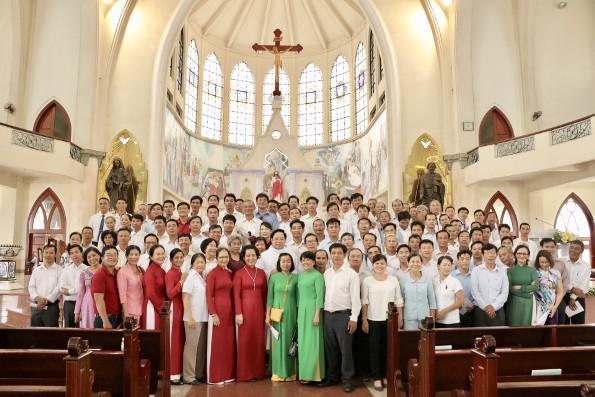 Hội đồng Mục vụ Giáo xứ tham dự vào công việc canh tân giáo xứ