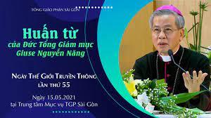 Huấn từ của ĐTGM Giuse Nguyễn Năng trong Ngày Thế giới Truyền thông năm 2021