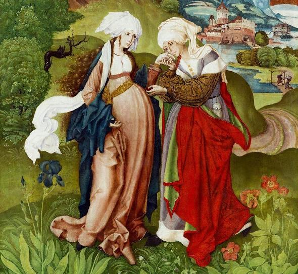 Maria ở lại độ ba tháng: SN Tin Mừng thứ Năm, Đức Maria thăm viếng Bà Êlisabeth (31.05.2018)