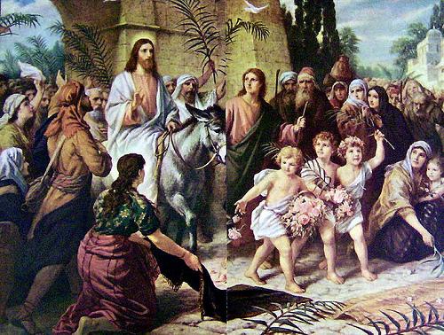 Chúc tụng Đức Vua: SN Tin Mừng Chúa nhật Lễ Lá (14.04.2019)