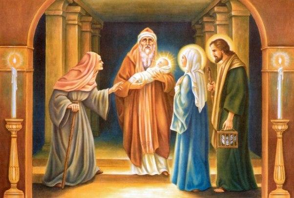 Ánh sáng và vinh quang: SN TM thứ Bảy, Dâng Chúa Giêsu trong Đền Thánh (02.02.2019)