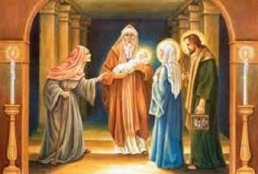 Lễ Dâng Chúa Giêsu Trong Đền Thánh