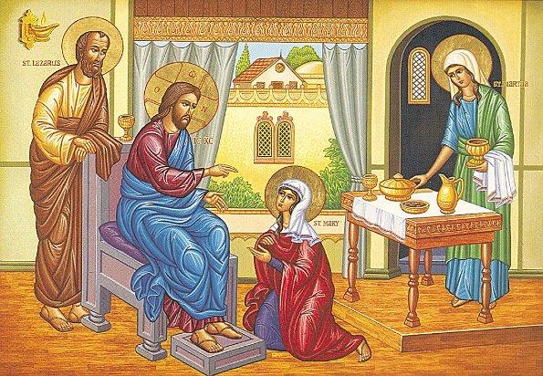 Đón Người vào nhà: SN Tin Mừng Lễ thánh Mácta (29.07.2020)