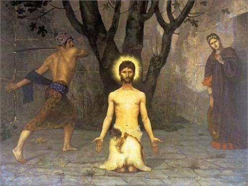 Đầu Gioan Tẩy giả: SN Tin Mừng thứ Ba, Thánh Gioan Tẩy giả bị trảm quyết (29.8.2017)