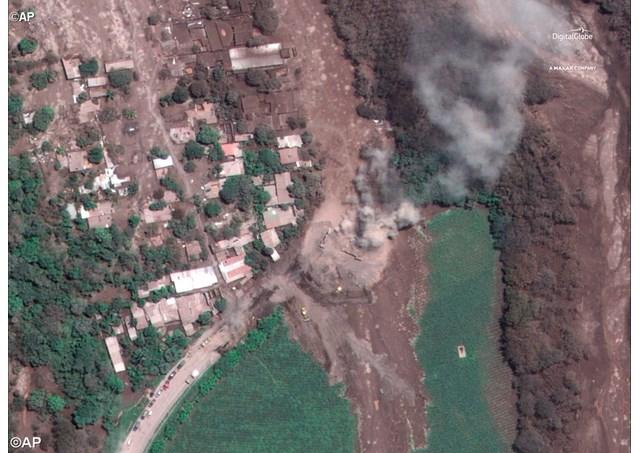 Đức Giáo hoàng Phanxicô chia buồn vụ núi lửa phun tại Guatemala