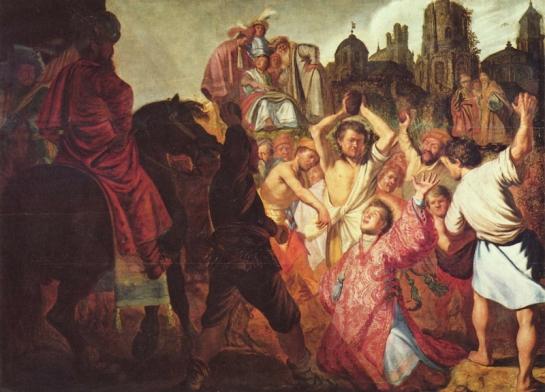 Xin nhận lấy hồn con: SN Tin Mừng – Ngày II trong Tuần Bát nhật Giáng sinh – Thánh Stêphanô, tử đạo tiên khởi (26.12.2017)