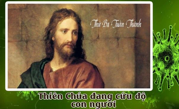 SN thứ Ba Tuần Thánh trong mùa dịch Covid–19: Thiên Chúa đang cứu độ con người
