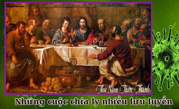 SN thứ Năm Tuần Thánh trong mùa dịch Covid–19: Những cuộc chia ly nhiều lưu luyến