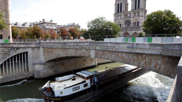 Khử chì quanh nhà thờ Đức Bà Paris