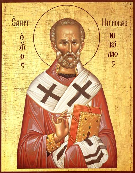 Đức Thượng phụ Kirill tặng ĐGH Phanxicô bức icôn hình Thánh Nicôla