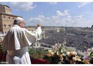 Đức Giáo hoàng Phanxicô - Thánh Lễ Phục Sinh tại Vatican 2018