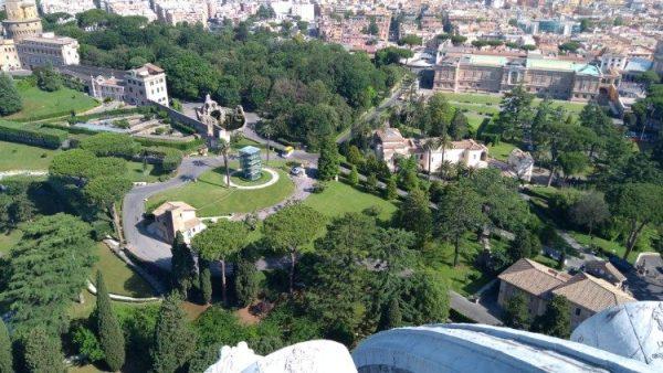 Các dự án quản lý môi trường của Quốc gia thành Vatican