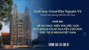Đề án thực hiện thư kêu gọi của ĐTGM Giuse Nguyễn Chí Linh