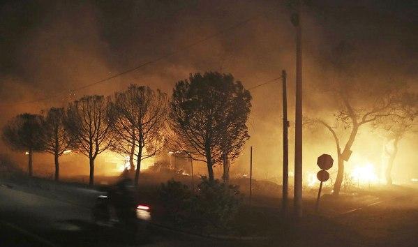 ĐGH Phanxicô cầu nguyện cho các nạn nhân vụ hỏa hoạn ở Hy lạp